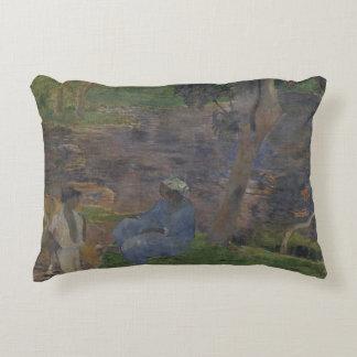 Paul Gauguin - en la orilla del lago