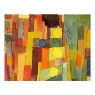 Paul Klee en el estilo de Kairouan Folleto 21,6 X 28 Cm