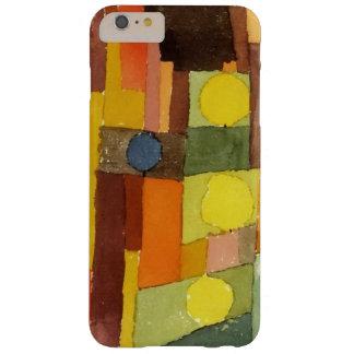 Paul Klee en el estilo del arte de la acuarela de Funda Barely There iPhone 6 Plus