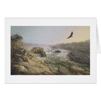 """Paul McGehee """"Great Falls tarjeta del Potomac"""""""