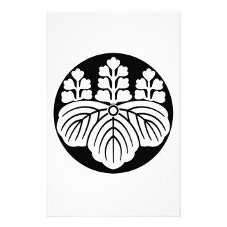 Paulownia con las floraciones 5&7 en torta de  papeleria