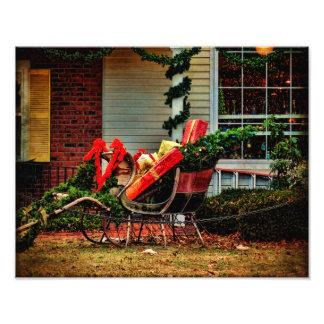 Pausa de la Impresión-UNo de la foto para Santa