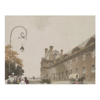 Pavillon de Flore en 1839 Postal