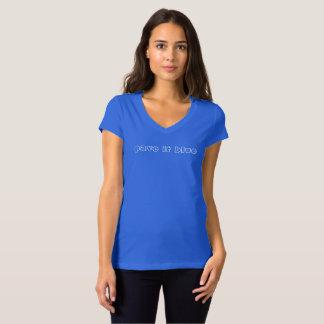 paviméntelo azul camiseta