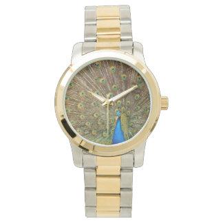 ¡Pavo real, reloj, para la venta! Reloj De Pulsera