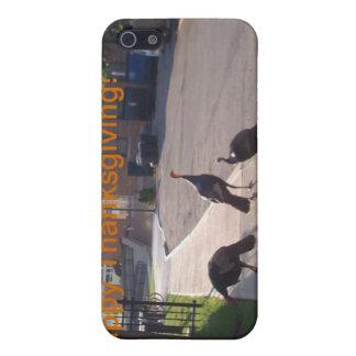 Pavos de la acción de gracias iPhone 5 carcasas