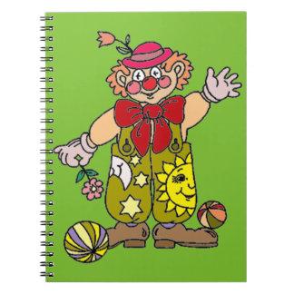Payaso 1 cuaderno