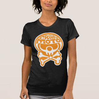 Payaso de Moto (naranja quebradizo) Camisetas