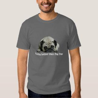 Payaso del barro amasado en la camiseta unisex del