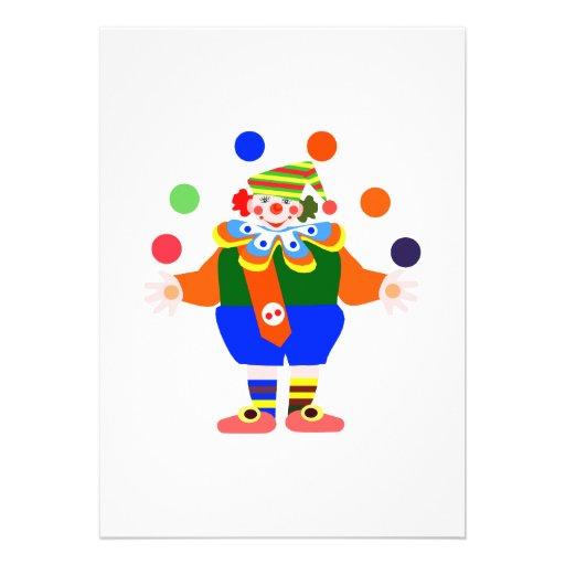 payaso del juglar comunicado personalizado
