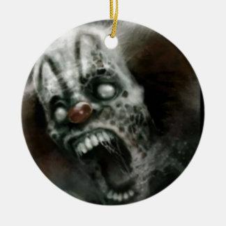 payaso del zombi ornamento para reyes magos