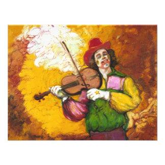 Payaso Dubie Hummingbyrd del Fiddler Anuncio