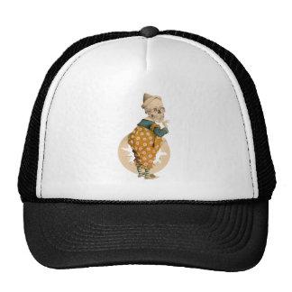 Payaso esquelético gorras