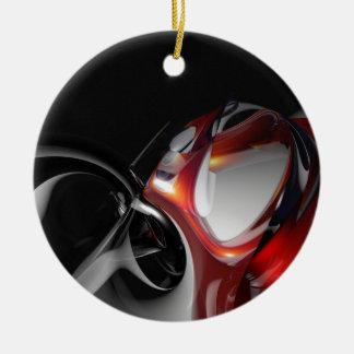 Payaso loco fresco abstracto adorno de navidad