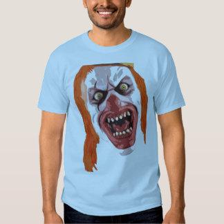 Payaso macabro camiseta