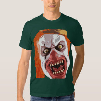 Payaso macabro camisetas