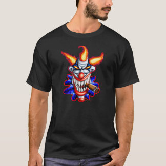 Payaso psico camiseta