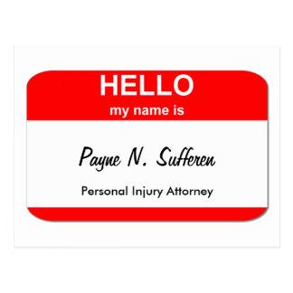 Payne N. Sufferen Postal