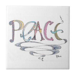 Paz 4 x baldosa cerámica 4