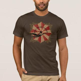 Paz a través de la camiseta del comercio