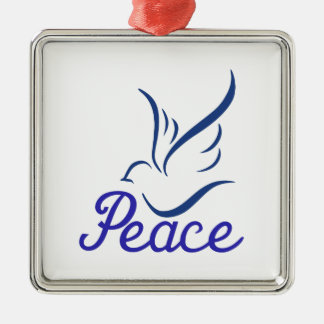 Paz Adorno Cuadrado Plateado
