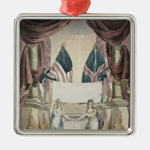 Paz, alegoría del tratado de Gante Ornamentos Para Reyes Magos