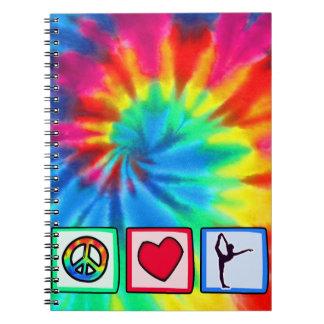 Paz, amor, ballet libro de apuntes