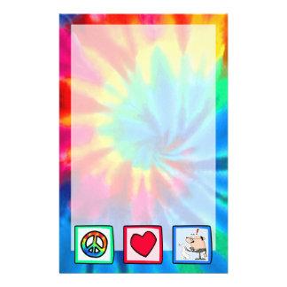 Paz amor contables  papeleria de diseño