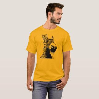 Paz, amor y camiseta de los burros