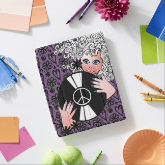 Paz, amor y vinilo cubierta de iPad