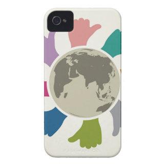 Paz Carcasa Para iPhone 4 De Case-Mate