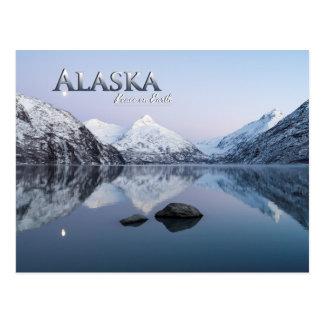 Paz de Alaska en la tierra Postal