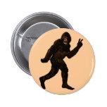 Paz de Bigfoot Pin