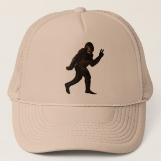 Paz de Bigfoot Sasquatch Gorra De Camionero