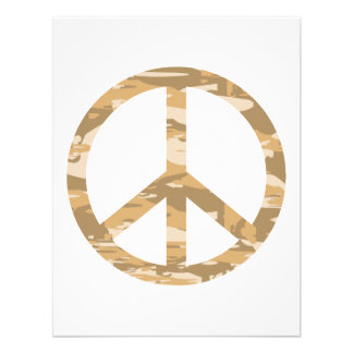 Paz de Camo del desierto Anuncio
