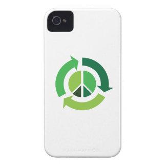 Paz de Eco Case-Mate iPhone 4 Protectores