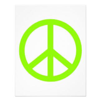 Paz de la verde lima comunicados personalizados