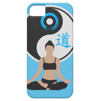 Paz de la yoga de Yin Yang Funda Para iPhone SE/5/5s