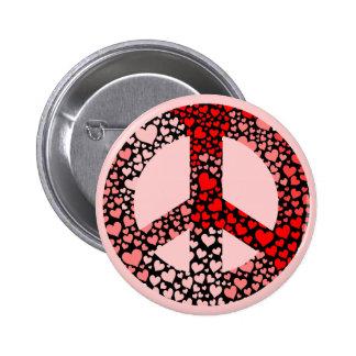 paz de los corazones pins