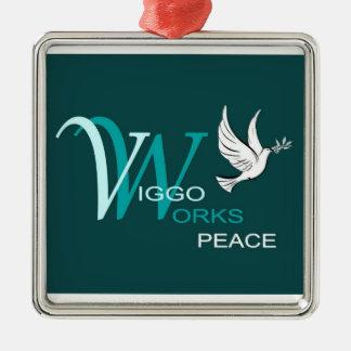 Paz de VW Ornamento De Navidad