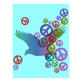 paz del águila tarjeta postal