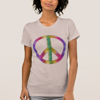 Paz del arco iris camiseta