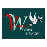 Paz del día de fiesta de los Viggo-Trabajos Felicitación