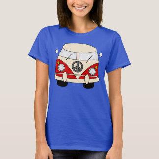 Paz del hippy camiseta