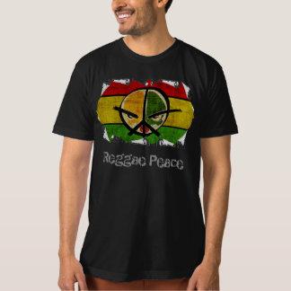 paz del reggae camiseta