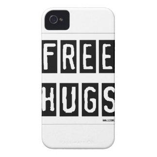 paz e amor capa de iPhone 4 Case-Mate