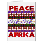 Paz en África Tarjetas
