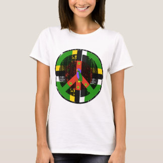 Paz en Dominica Camiseta