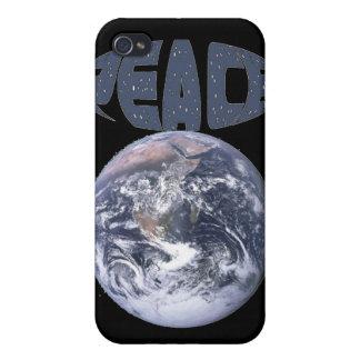 Paz en la tierra iPhone 4 carcasas