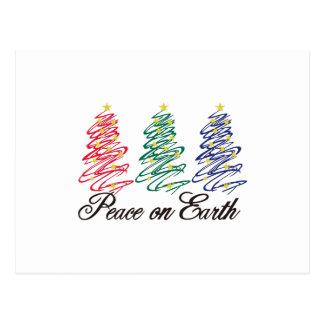 Paz en la tierra postal